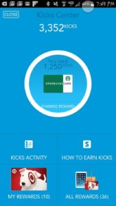 shopkicks earn free starbucks gift card