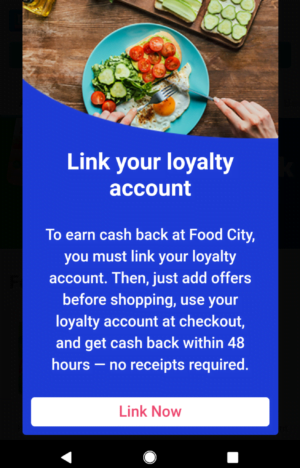 links loyalty card to ibotta app