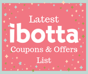 latest ibotta coupons and offers