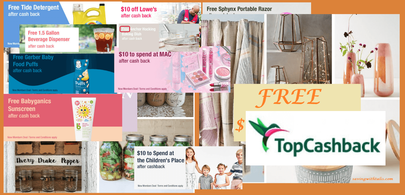 topcashback past bonus offers