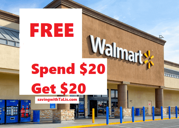 free $2 to spend at Walmart