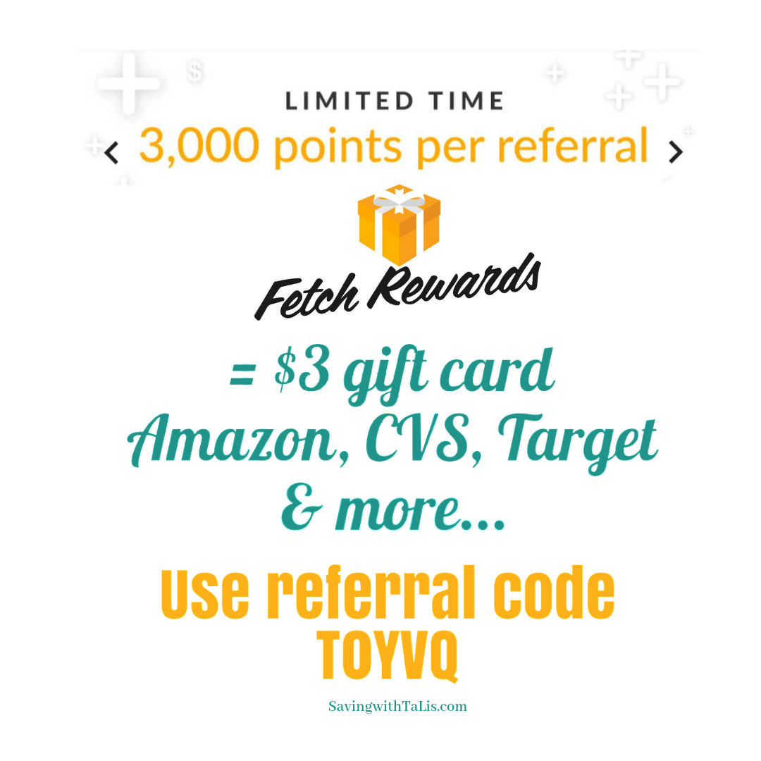 2000 Bonus Points from Fetch Rewards