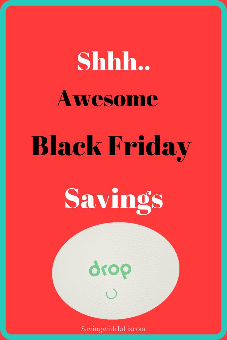 black friday savings drop app