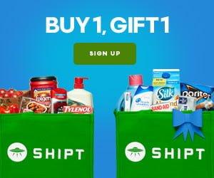 Shipt membership buy 1 get 1