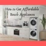 bosch appliances in a kitchen