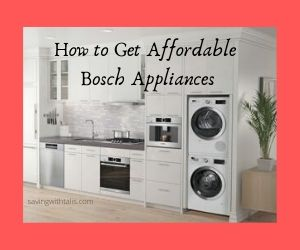 bosch appliances in a kitchen