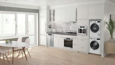 Bosch kitchen appliances in a kitchen