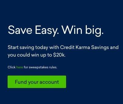credit Karma sweekstakes