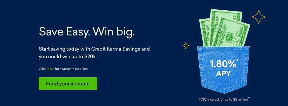 credit Karma sweepstakes