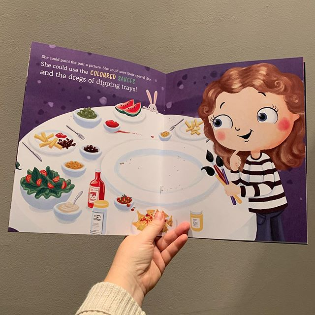 beans & sparks personalized book