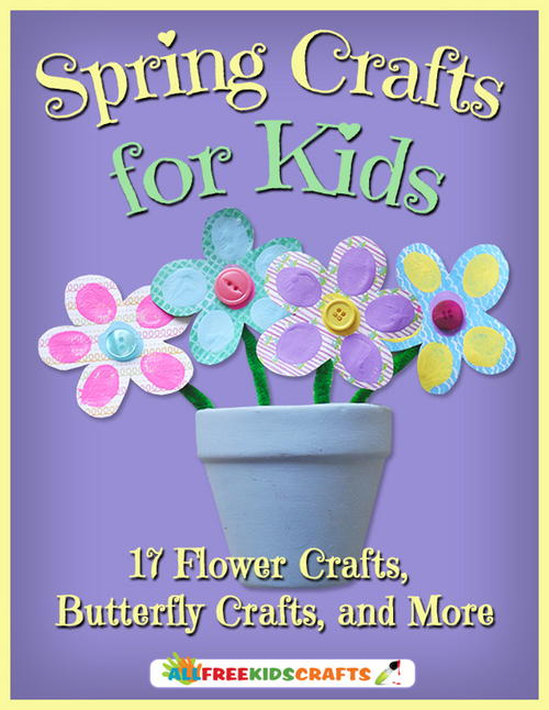 Free Kids Crafts Ideas eBook to Fight Boredom