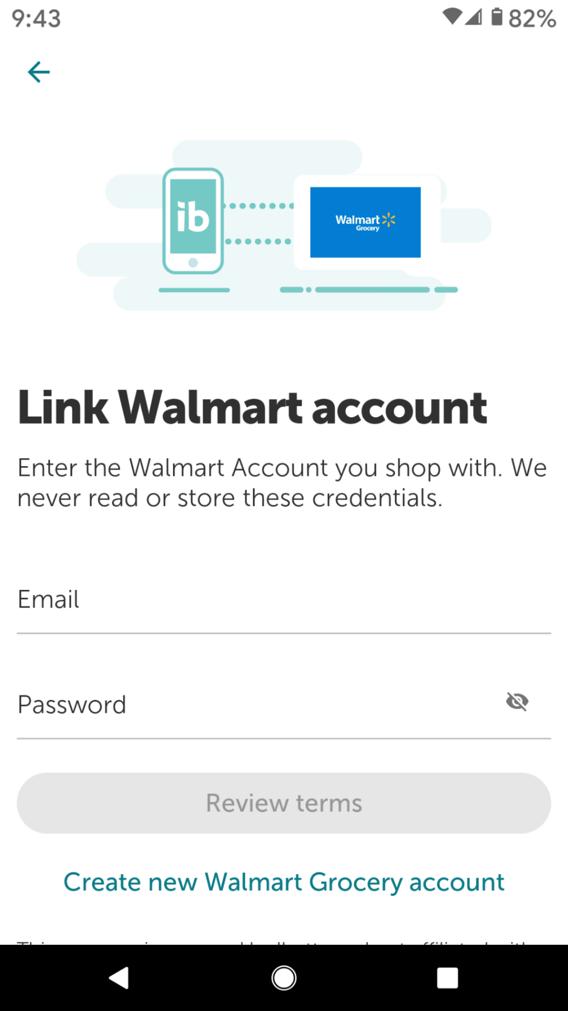 ibotta walmart login details on ibotta