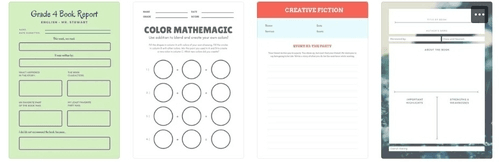 canva for teacher examples of worksheet templates