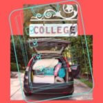 car packed with college shopping