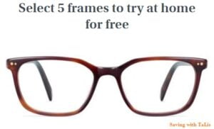5 frames to try at home for free with Warby Parker