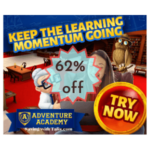 Adventure Academy Learning Program