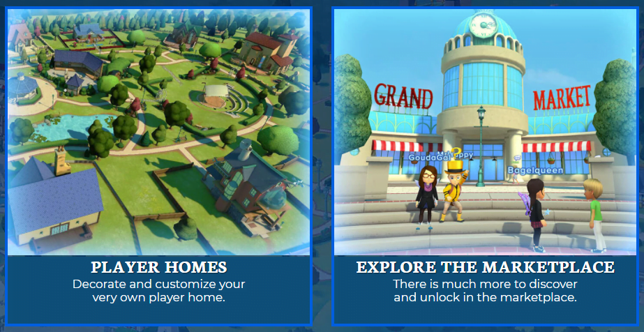 game screenshots of Adventure Academy learning program