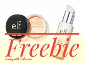 $15.00 cashback on anything after purchase from e.l.f. Cosmetics
