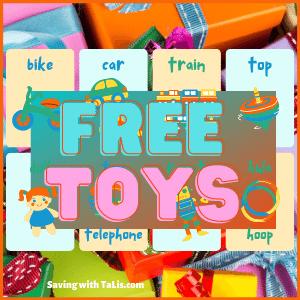 free toys after cashback