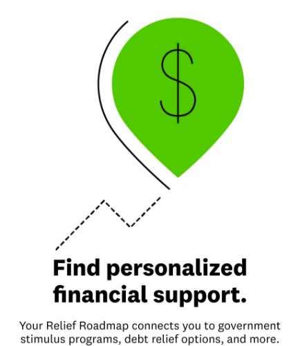 Credit Karma personalized financial support with list of resources