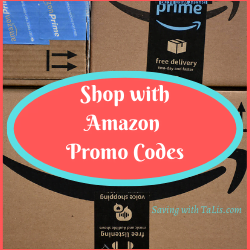 Shop on Amazon with Promotional codes