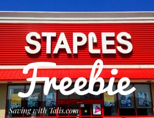 Free offer at Staples store through TopCashback