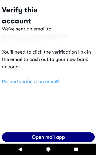 Verify its you linking this bank to GetUpside