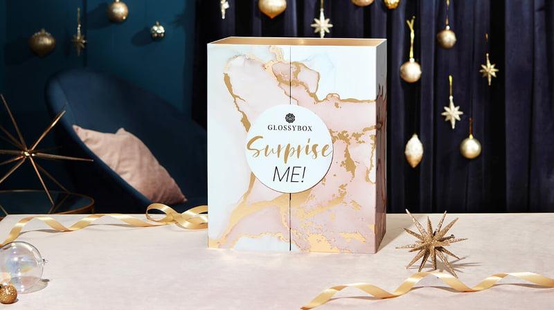 Glossybox Advent Calendar 2021 Surprise Me! marble decor box